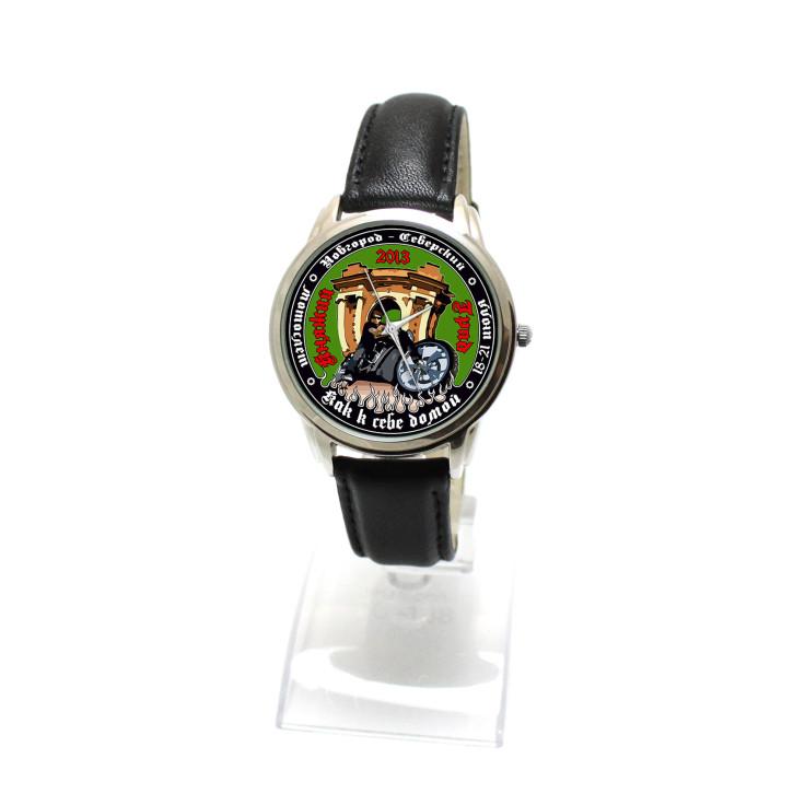 """Часы с логотипом """"Княжий град"""""""