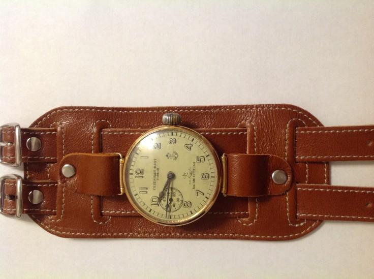 Часы Кировские 1943 года на ремешке АртСтор.JPG