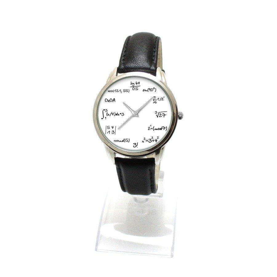 Часы наручные с циферблатом формулами часы кварцевые с автоподзаводом купить кинетик