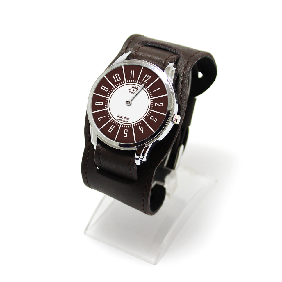 f0a2d623bc1080 Эксклюзивные наручные часы с одной стрелкой Jumper JP на винтажном ...